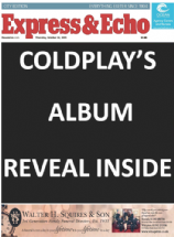 EXPRESS & ECHO - Coldplay's album reveal